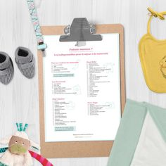 Indispensables valise maternité