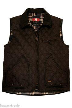 Kakadu Hoover Vest Brown Oilskin Conceal Carry Mens | eBay