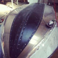CNC cut UHMWPE keel strip