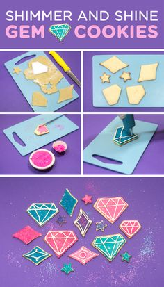 Make these sweet genie treats together with your child for their Shimmer and Shine birthday party! Here's a special make-together treat to enjoy at a viewing party, birthday party, or just as a fun dessert. Follow this recipe for Shimmer and Shine Gem Cookies and you and your kid will not be disappointed.