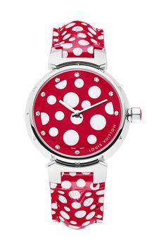 Louis Vuitton Infinitely Kusama #watch #luxury