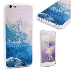 YOUNG AND BEAUTIFUL - Urcover® Semi Softcase Hülle   Apple iPhone 6 / 6s   TPU Muster Will you still love me   Kamera-Schutz   Handyhülle   Cover Backcase Handyschutz The Great Gatsby Soundtrack Lana del Rey Young & Beautiful Lyrics 7,90€