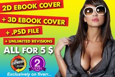 design stunning 2D or 3D EBOOK cover in 24Hrs by graphic89