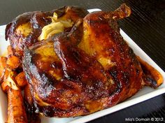 Mia's Domain | Real Food: Outta The Park BBQ Chicken