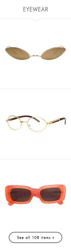"""EYEWEAR"" by thnae ❤ liked on Polyvore featuring accessories, eyewear, eyeglasses, sunglasses, glasses, gold, gold eyeglasses, lightweight eyeglasses, cat eyeglasses and gold cat eye glasses"