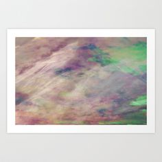 Filter against pain 9 - Heaven Art Print by Victory and Gold - $15.00