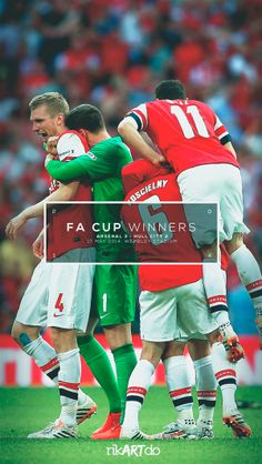 FA CUP WINNERS 2014 by Ricardo Mondragon, via Behance