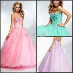 Wholesale Covered Button - Buy Beautiful Pink Crystle Beaded Sweetheart Corset Princess Prom Gowns 2014 New Quinceanera Dresses Ball Gown Organza Cheap Lace-Up, $84.47 | DHgate