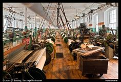 interior of lowell mills - Google Search