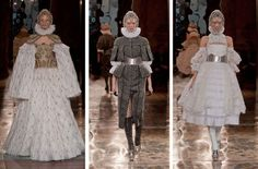 Elizabeth I Takes the Runway at Alexander McQueen - Fashionista