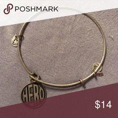 "Alex and Ani bracelet Alex and Ani ""hero"" silver charm bracelet Alex & Ani Jewelry Bracelets"
