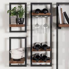 living room ideas – New Ideas Loft Furniture, Apartment Furniture, Home Decor Furniture, Home Decor Items, Alcove Storage Living Room, Shelves In Bedroom, Home Bar Designs, Diy Wand, Home Organisation