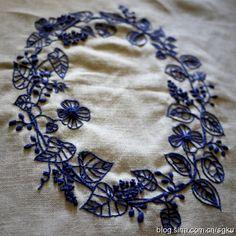 Объемная вышивка японского мастера YUMIKO Higuchi Часть 2