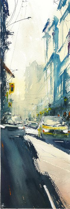 """It is sunny!"" Emil Kerie #watercolor jd"