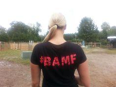 Jennifer S. rocking her #BAMF tee.