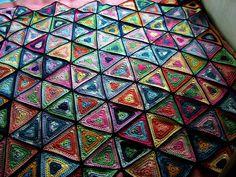 persian tiles crochet - Google Search