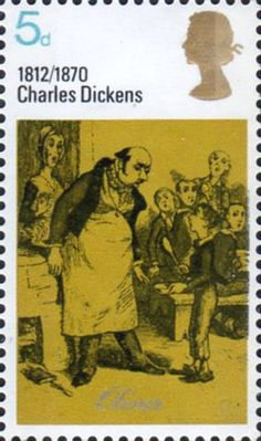 Literary Anniversaries 5d Stamp (1970) 'Oliver asking for more' (Oliver)