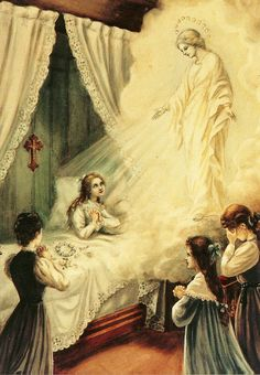 On this day May 13-St. Terese was healed by The Blessed Virgin Mary!