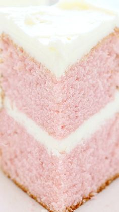One Bowl Pink Velvet Cake ~ A delicious and pretty cake, perfect for so many occasions!