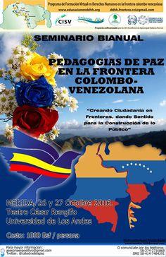 https://flic.kr/p/MuMtMG | Pedagogías de Paz en la frontera Colombo Venezolana | Seminario Bianual Pedagogías de Paz en la frontera Colombo Venezolana