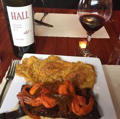 Churrasco con camarones  1701 Hamilton Ave, Hamilton, New Jersey #buenprovechorc #puertoricanfood