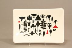 A Temuka 'Seeds Across the Land' Richard Killeen plate, dated 1979