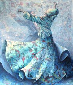 I like this illustration of sufi dancer <3