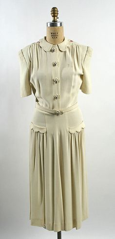 Afternoon Dress, American, c.1940, The Metropolitan Museum of Art, New York