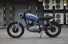 yamaha,sr250,custom,scrambler,tracker,cafe racer,bobber,auto fabrica,type 3