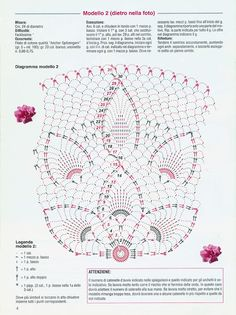 diana_la_piccola - Aypelia - Álbuns da web do Picasa Vintage Crochet Doily Pattern, Crochet Doily Diagram, Crochet Dollies, Crochet Borders, Crochet Chart, Thread Crochet, Crochet Motif, Knit Crochet, Crochet Patterns