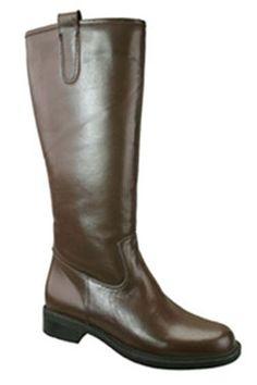 David Tate Women's Bree Super Plus Wide Calf Boot (Brown) - Super Wide Calf™ Boots
