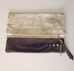 CUTE cotton and leather pouch in Sand Stone Cream. But at $45, it really isn't much of a discount.