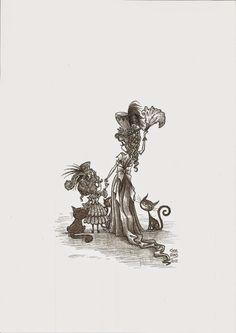 Víctor Rivas Ilustrations: Original Un Tesoro: M y m