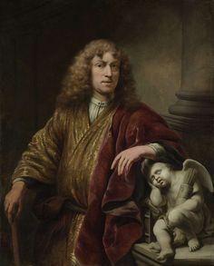 Ferdinand Bol (1616-1680). Zelfportret, ca. 1669  olieverf op doek, h 127cm × b 102cm. Rijksmuseum Amsterdam