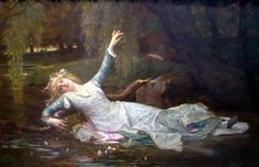 """""""Drama, like grief, requires performance: an interrupted play is as emotionally destabilizing as an incomplete mourning."""" Professor Laurie Maguire analyzes death in Shakespearean plays and the unfortunately inevitable and debilitating emotions that surround it: grief and mourning. (Image: 'Ophelia' by Alexandre Cabanel. Public Domain via Wikimedia Commons.)"""