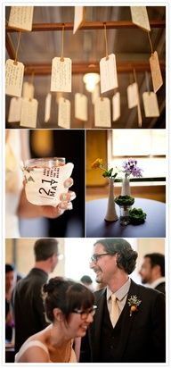 Note mobile-Great wedding, anniversary, or going away party idea