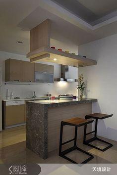 69 Ideas For Cheap Remodel Kitchen Home Kitchen Bar Design, Home Decor Kitchen, Interior Design Kitchen, Kitchen Furniture, Home Kitchens, Kitchen With Bar Counter, Kitchen Designs, Small Kitchen Inspiration, Plafond Design