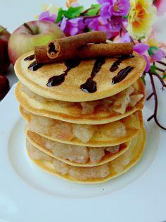Aktywne Żywienie: Imbirowe pancakes jaglane z duszonymi jabłkami