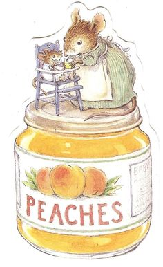 Peaches -- Beatrix Potter? by jawood