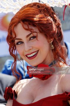 Actress Araceli Arambula poses for a portrait during the first day of the shooting of the soap opera 'Corazon Salvaje' ('Wild Heart') on August 17, 2009 in Veracruz, Mexico.