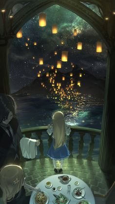 Female Anime Hairstyles, Manga Anime, Anime Art, Anime Scenery Wallpaper, Pretty Art, Picture Wall, Fantasy Art, Concept Art, Illustration Art