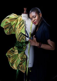 Deola Sagoe is a haute couture fashion designer from Ondo State, Nigeria. A mother of three, who studied at the University of Miami and University of Lagos with a Masters degree in Finance and Management, Sagoe began designing in 1998, and has gained international notoriety for her designs.