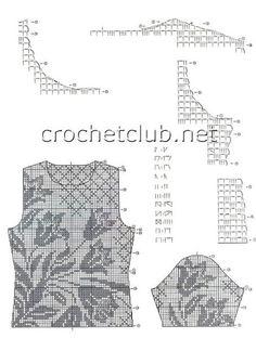 blusa manga curta file