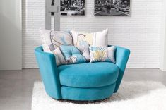 Appealing And Colorful Accent Chairs And Recliners