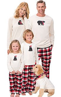 1844283d32e6 Holiday Stripe Matching Family Pajamas