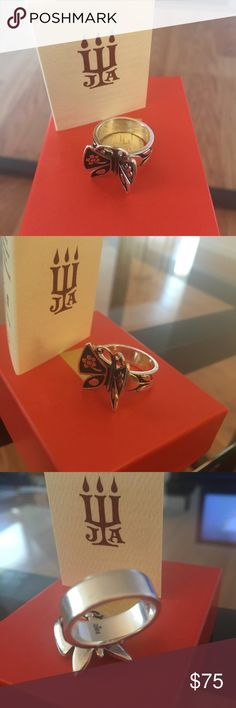 James Avery butterfly ring Beautiful James Avery butterfly ring. Sterling silver. Size 7.5  open to offers! James Avery Jewelry Rings