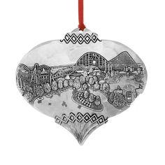 Kennywood Christmas Tree Ornament