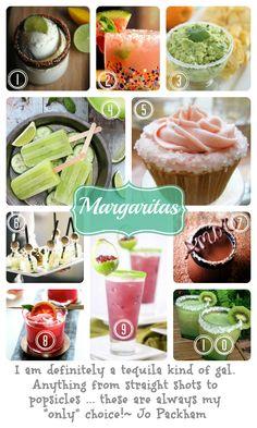 Jo's favorite things: margaritas #drinks #cocktails