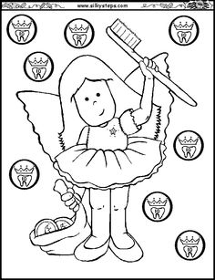 39 best tooth fairy coloring pages national tooth fairy day images Sample Dental Assistant Resume Examples tooth fairy printable coloring page dental teeth dental hygiene smile teeth tooth fairy