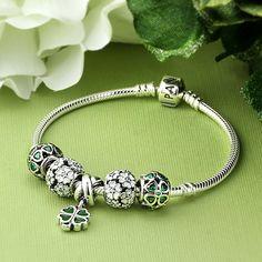 PANDORA Saint Patrick's Day Inspired Bracelet.